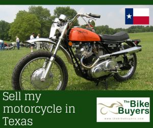 Sell my motorcycle Texas - Thebikebuyers