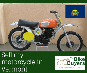 Sell my motorcycle Vermont - Thebikebuyers