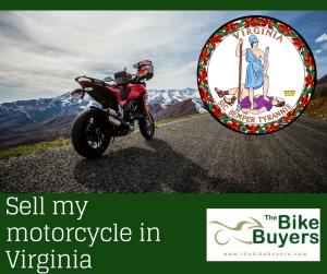 Sell my motorcycle Virginia - Thebikebuyers