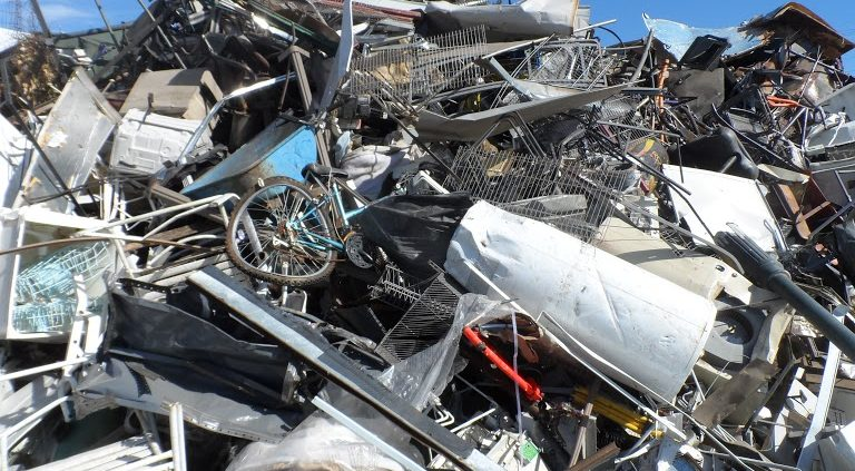The Norms of a Motorcycle Junkyard
