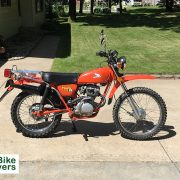 How can I make money by selling a motorcycle?