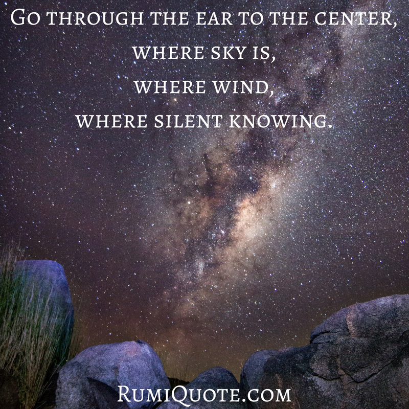 Rumi you are wished-for song poem quote meaning
