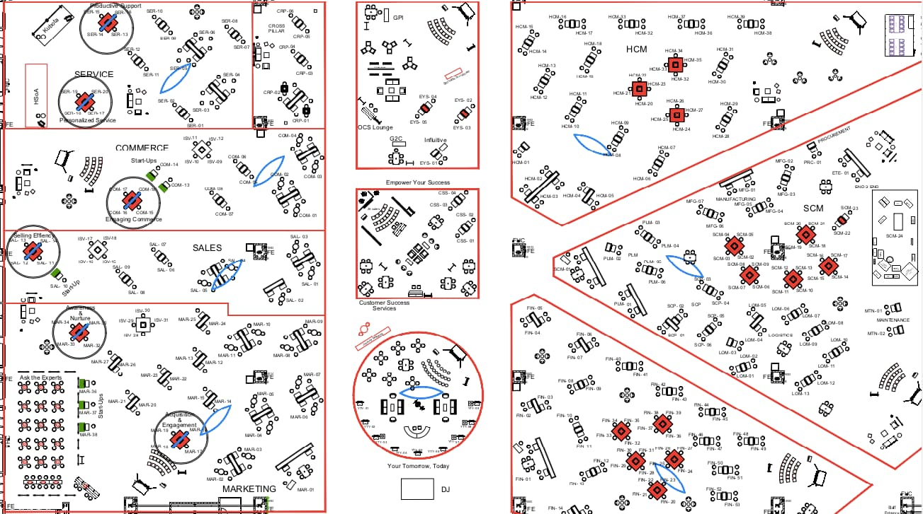 MCX Conference Map with A5 Location