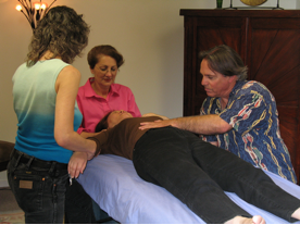 Multiple MFR Therapists