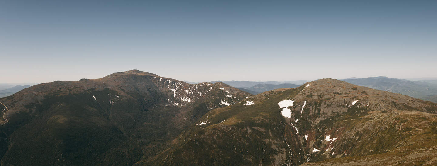 Northern Presidentials with snow