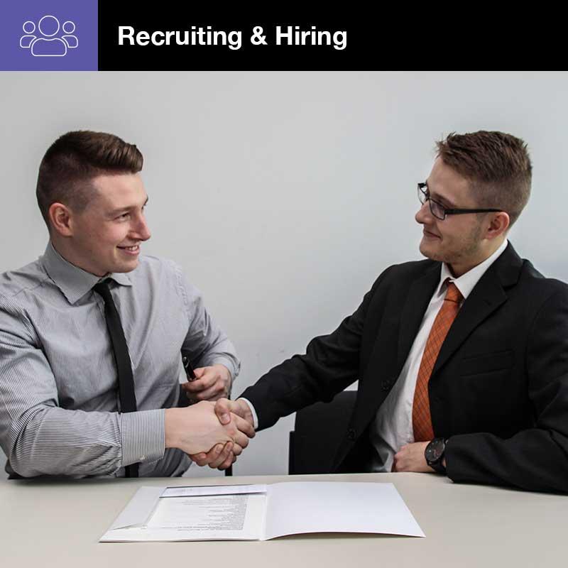 Recruiting & Hiring Great Employees Webinar