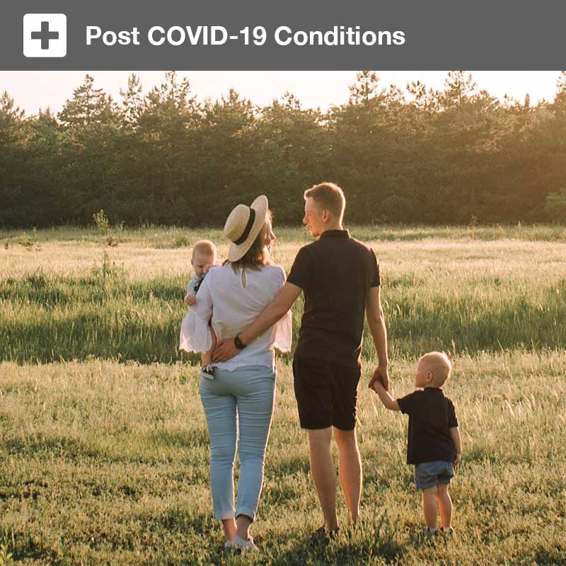 Post COVID-19 Conditions: In the brain and body of adults and children