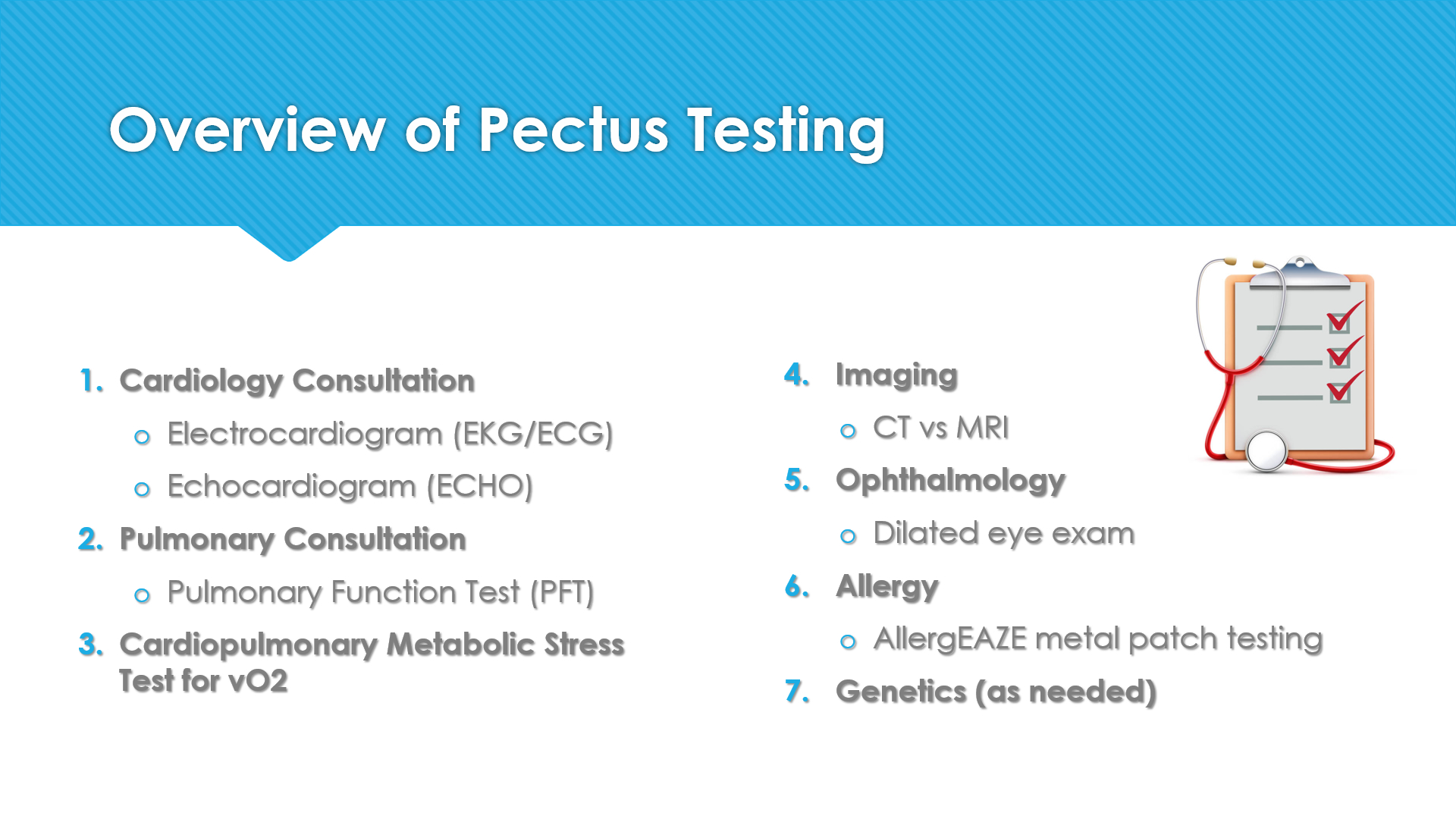 Topic: Learn More About Testing Before the Nuss Procedure Surgery