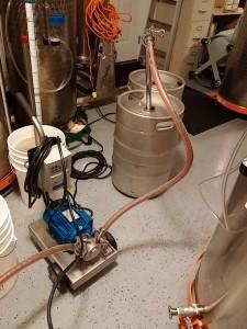 Pumping from Keg