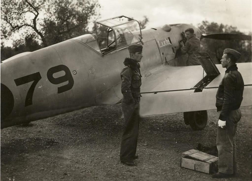 3. I chose the paint scheme of Werner Molders' Kondor Legion aircraft.