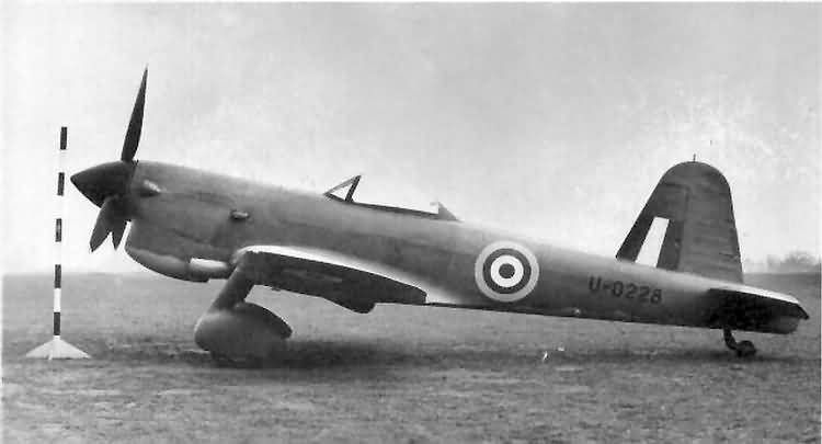 The navalized version for the Fleet Air Arm.