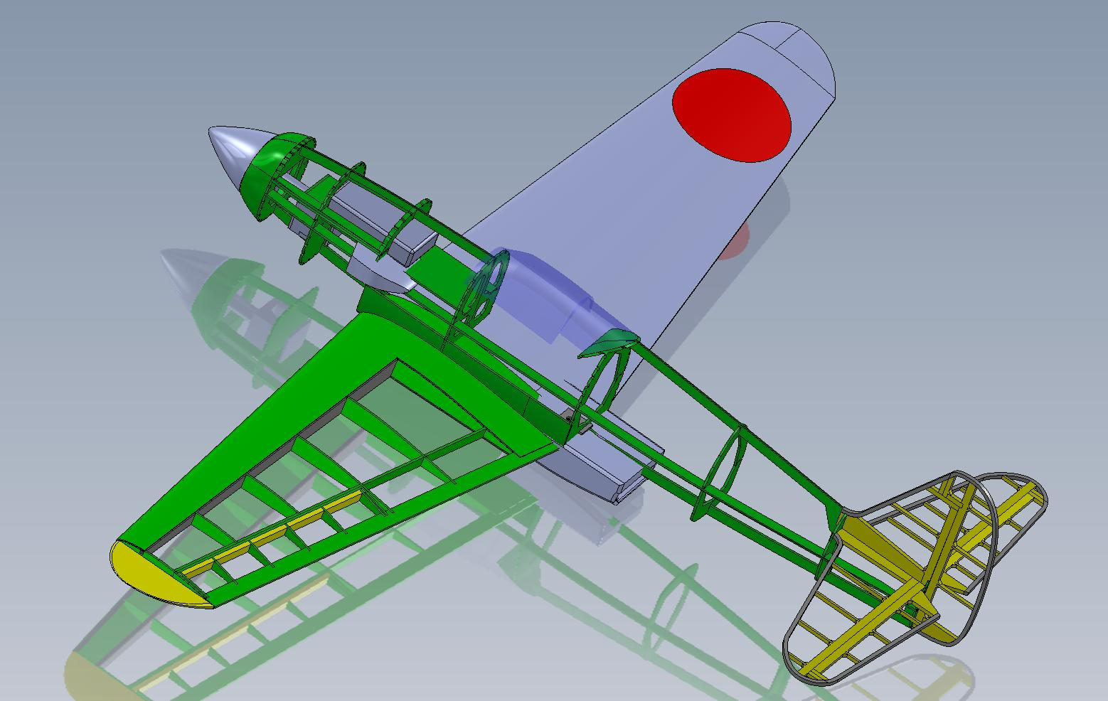 4.   My SolidWorks version ready for lasercutting.