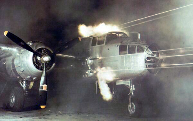 The gunship concept was first applied to J models with the standard glass nose.