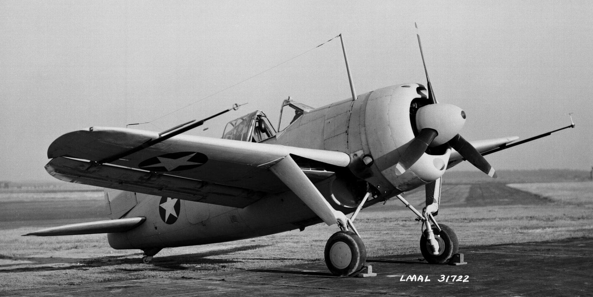 A prototype Buffalo in US Navy trials in 1939.