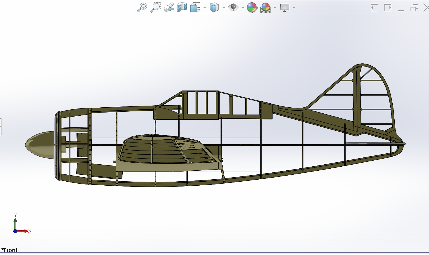 CAD model broken down with internals shown.