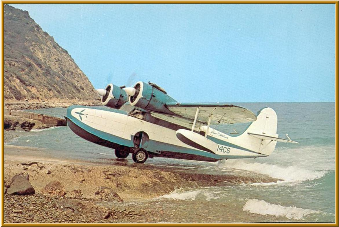 Catalina Airlines flew the Goose from Long Beach to the island for many years.
