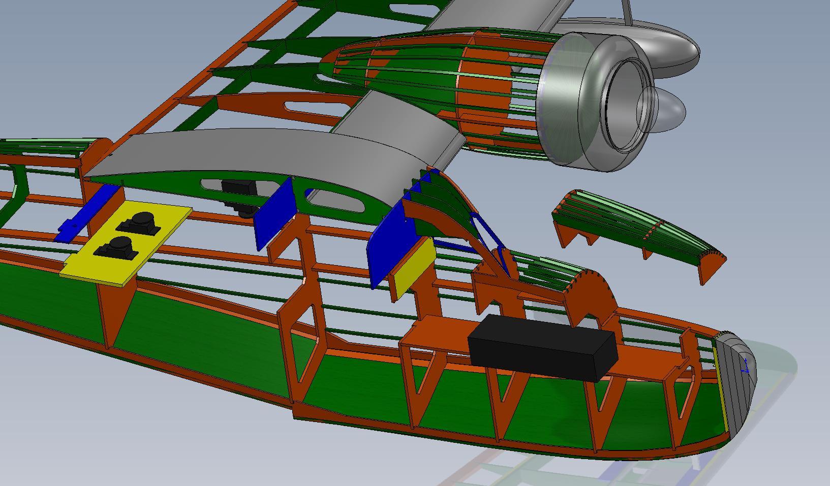 Another shot showing the optional hatch arrangement.
