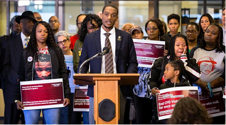 advocates speak on the consent decree that would govern police reform.