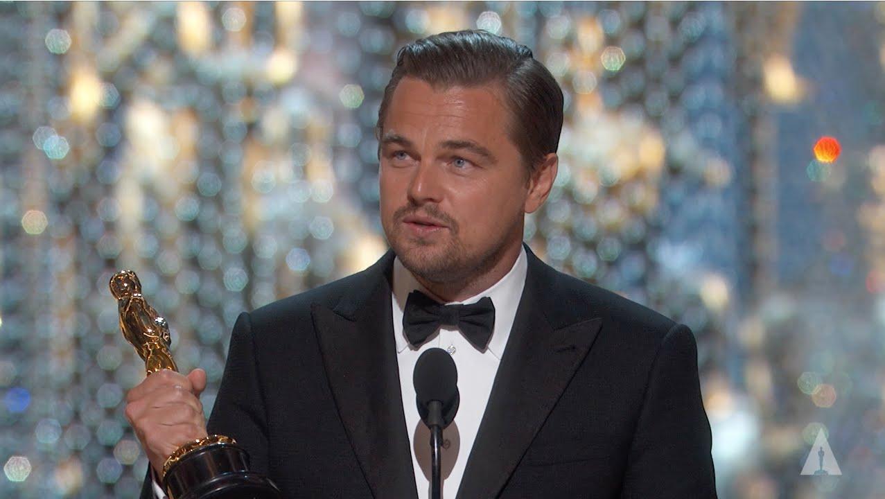 Leonardo DiCaprio Finally Won an Oscar!