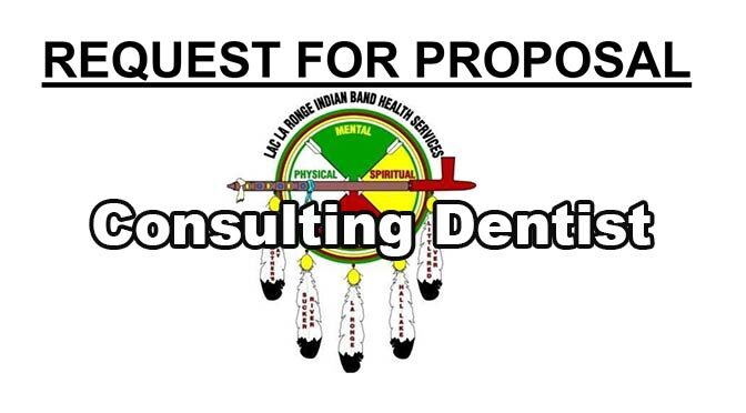 REQUEST FOR PROPOSAL Consulting Dentist – Deadline for Submissions: April 12, 2021