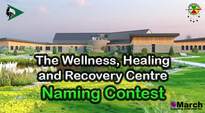 The Wellness, Healing and Recovery Centre – Naming Contest – Deadline: May 31, 2021