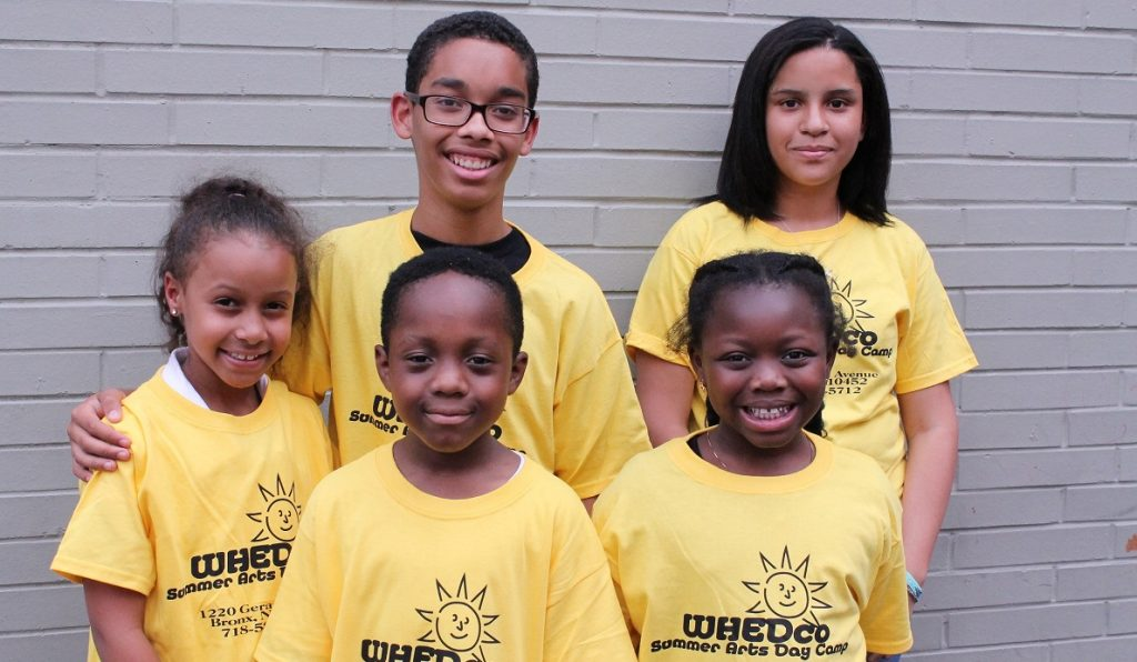 WHEDco Summer Arts Day Camp Participants