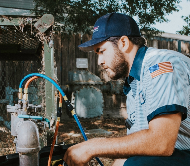 repiping service armstrong plumbing