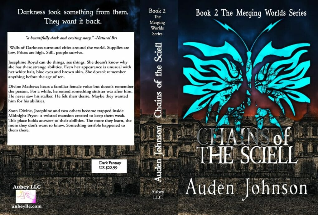 Chains of the book paperback book cover design