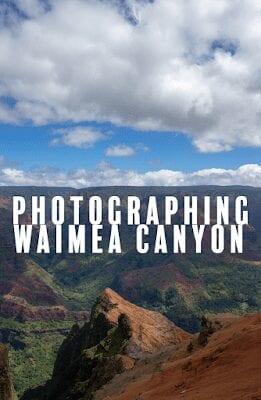beautiful landscape photography Hawaii Waimea Canyon