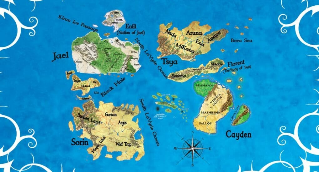 world fantasy map