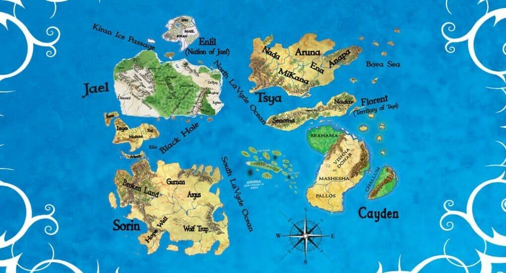 world fantasy map