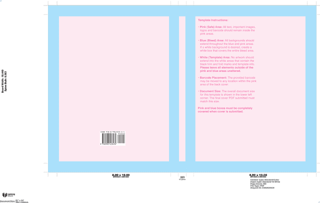 Indie Author Book Cover template