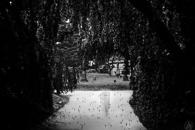 Horror Photography cemetery