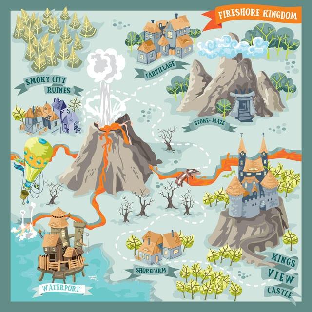 Fantasy Map Icons