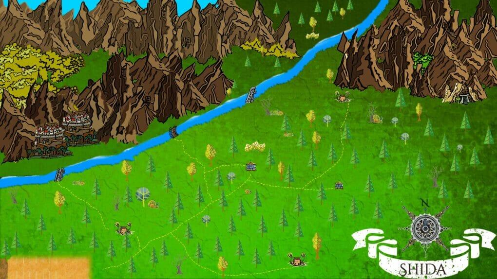 Dark Fantasy Book Map