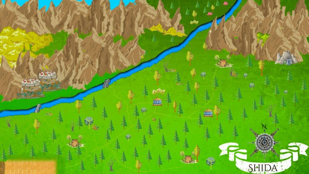 fantasy city map