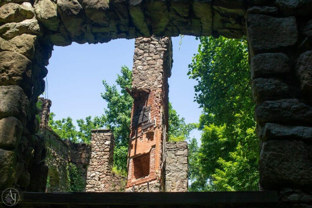 Cornish Estate Ruins NY