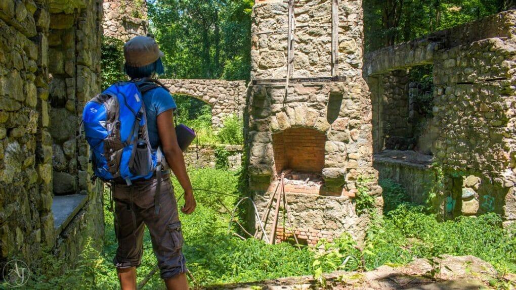 hudson highlands cornish estate ruins