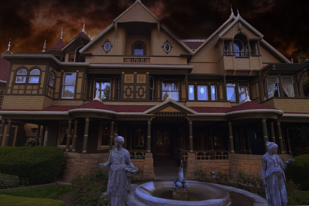 Haunted Winchester Mystery House, California,
