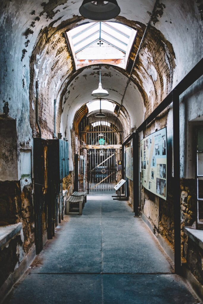 Haunted Prison Eastern State Penitentiary
