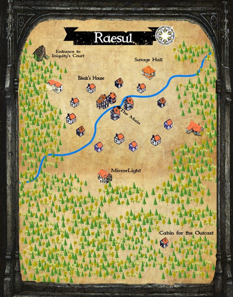 fantasy town maps