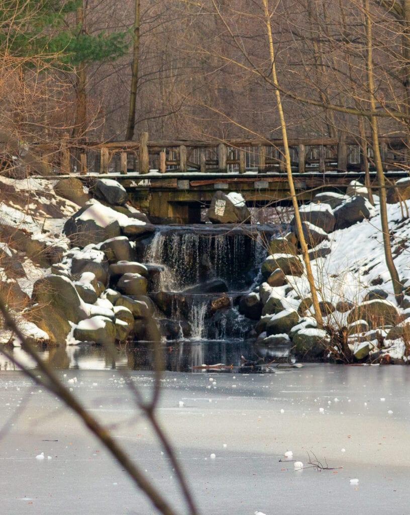 Brooklyn Winter Waterfall Photography