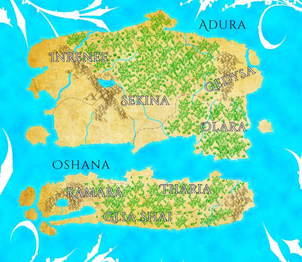 Making Fantasy Maps on Photoshop
