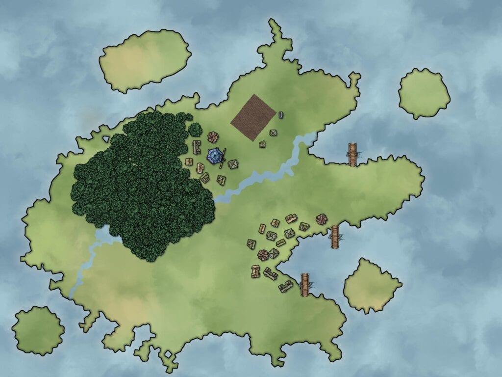 Fantasy mapmaking software