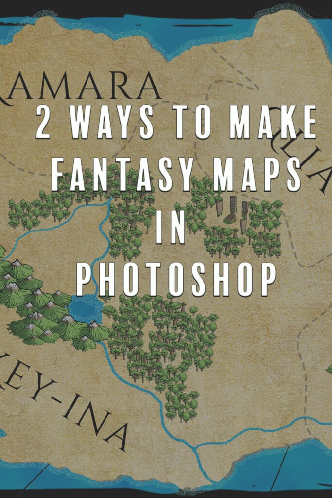 Two Ways to Make Fantasy Maps in Photoshop