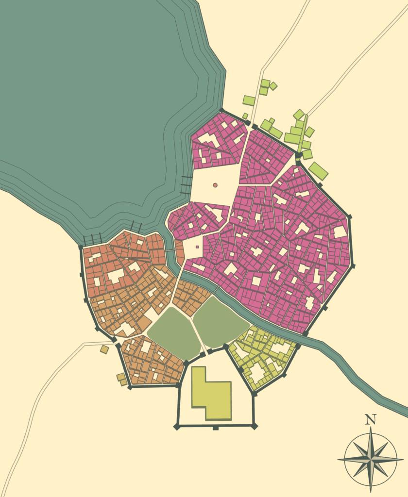 Medieval Fantasy City fantasy mapmaking software
