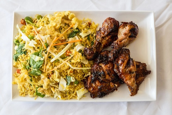 Fried Rice, Barbecue Chicken.......