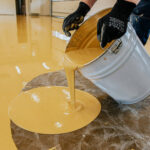 Epoxy Yellow Floor - Nashville