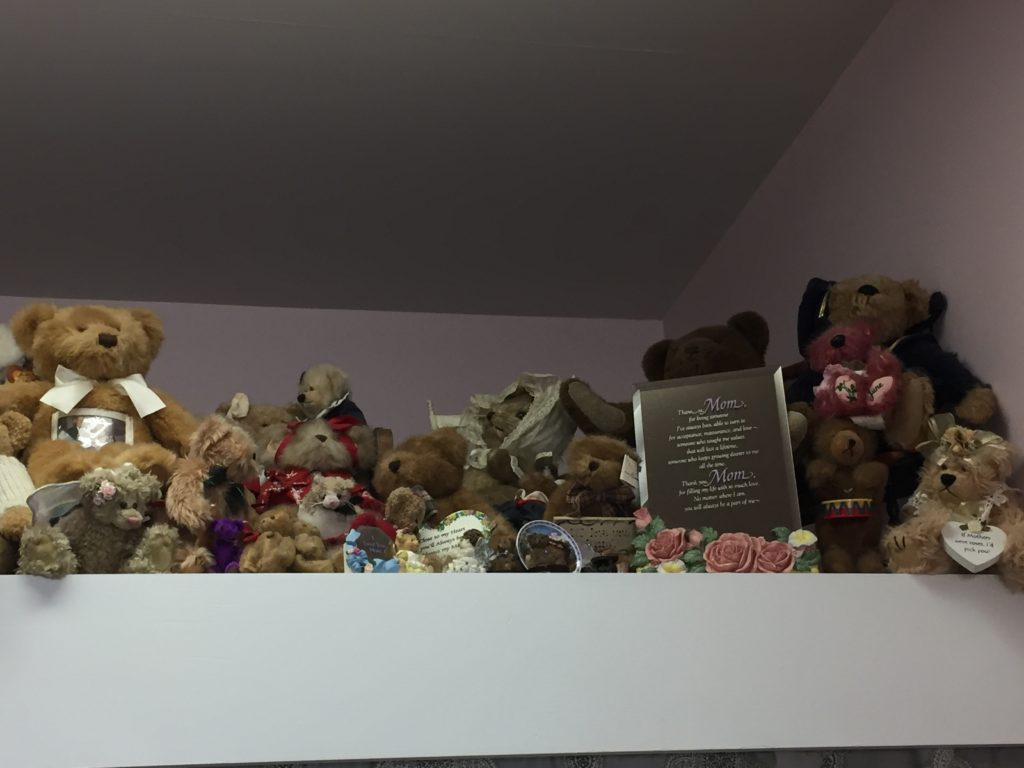 Rose's bears from her mother