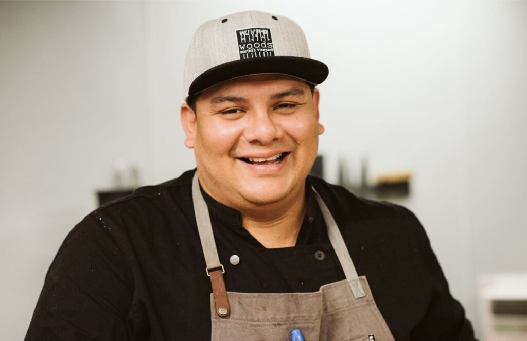 Chef Jimmy Alvarado Woods Restaurant Lambert's Cove Inn Martha's Vineyard Restaurants